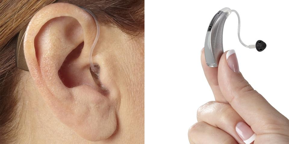 hearing aid styles bte