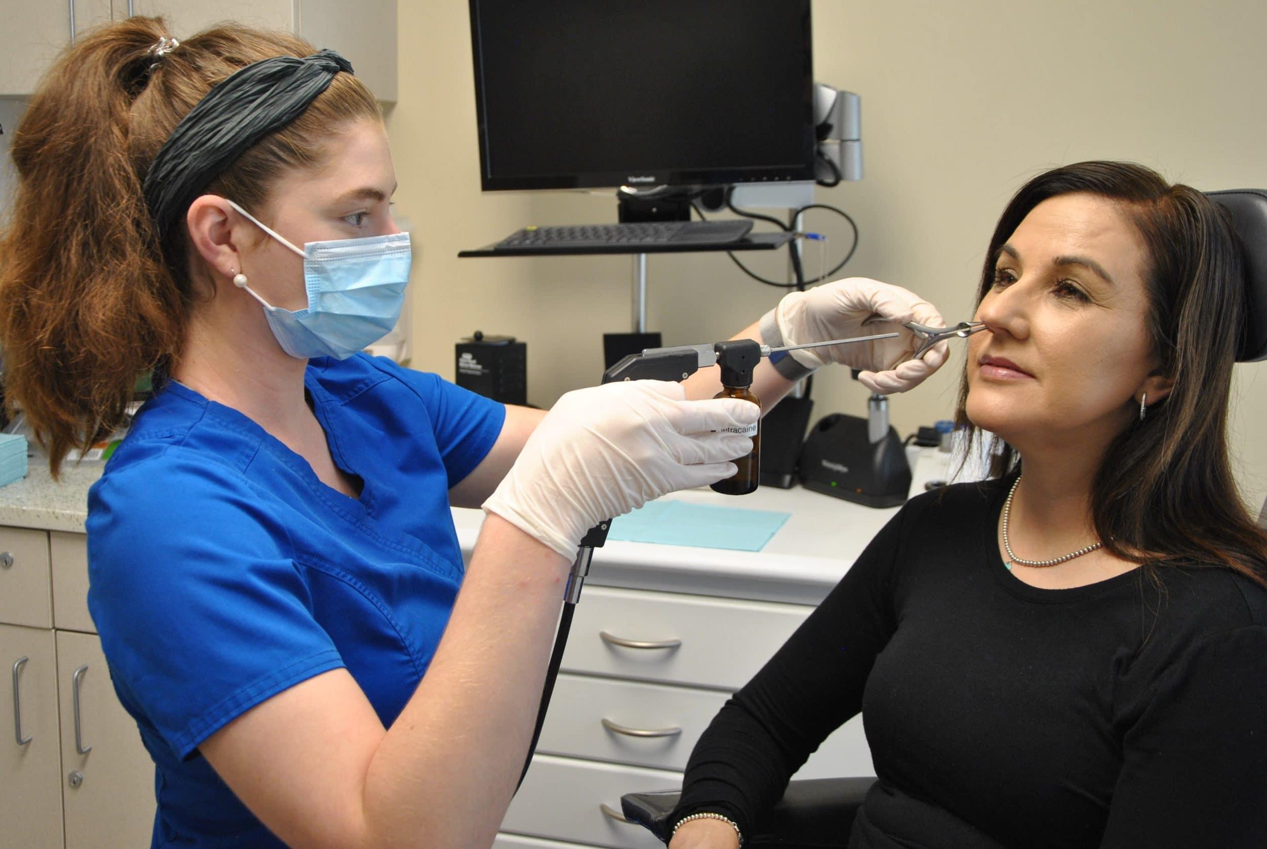 pacificspecialists.com nose sinus treatment of nosebleeds epistaxis