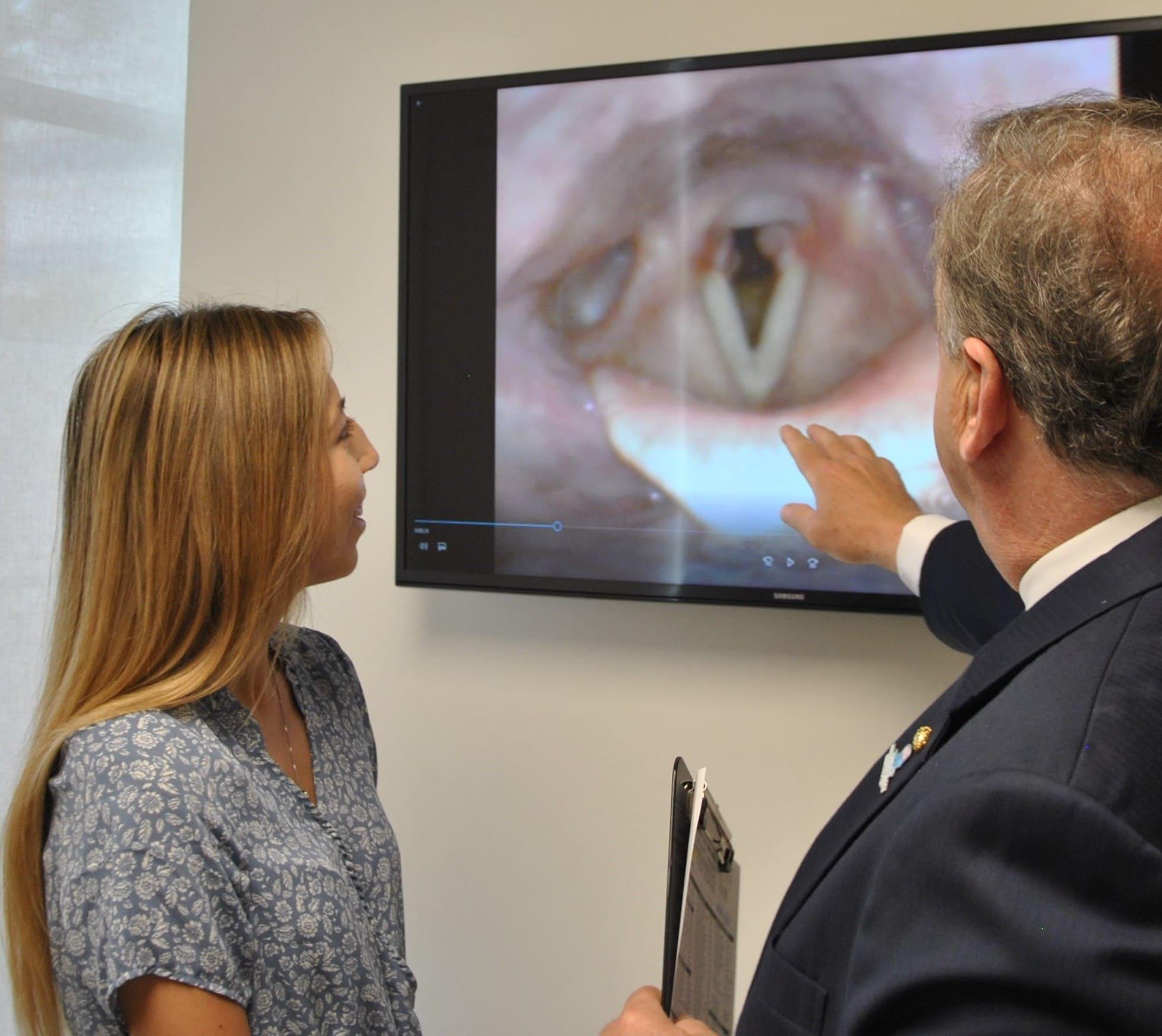 pacificspecialists.com voice treatment laryngeal examination